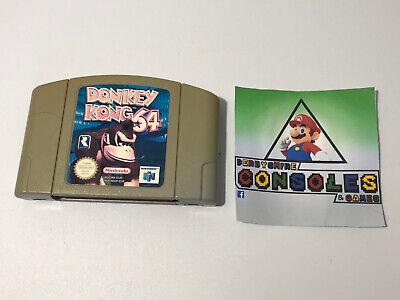Nintendo 64 N64 Game Donkey Kong 64