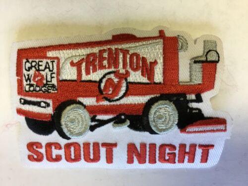 George Washington Council Trenton Devils Hockey Scout Night patch