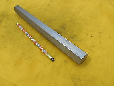 Stainless Steel Hex Stock Machine Shop Rod Bar 1 116 X 12 Oal