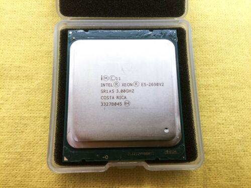 Pair of SR1A5 INTEL XEON E5-2690V2 10 CORE 25MB 3.00GHZ CPU