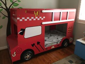 Fire Engine Bunk Bed Beds Gumtree Australia Willoughby Area