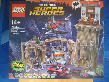 Lego Batcave 6860 With Mini Figures And Instructions Toys Indoor