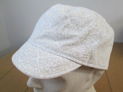 Vintage PRANA Sexy Womens Cadet Military Lace Yoga Crossfit Embroidered Hat Cap ()
