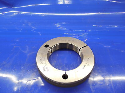 3 38 12 Un 2a Thread Ring Gage 3.375 No Go Only P.d. 3.3126 Inspection N-2a