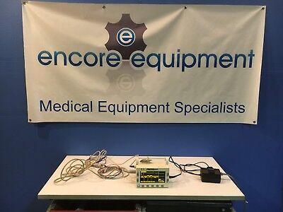 Propaq Smart Cuf Model 202 El Patient Monitor W Cables..see Full Ad Below.