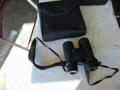 Nikon 10x42 Action 6 Degree Waterproof Binoculars With Carrying Case AT 503860