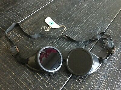 Vintage Welding Safety Goggles Steampunk Collectibles Used
