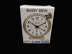 Westclox Baby Ben Loud Bell Analog Alarm Clock, 11611QA