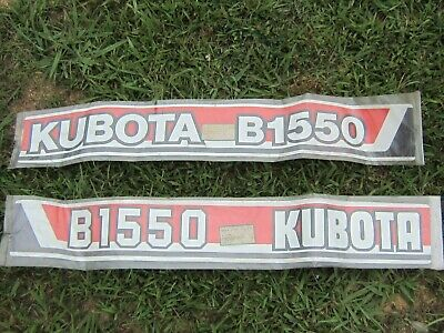 2---kubota--factory Decals---b1550