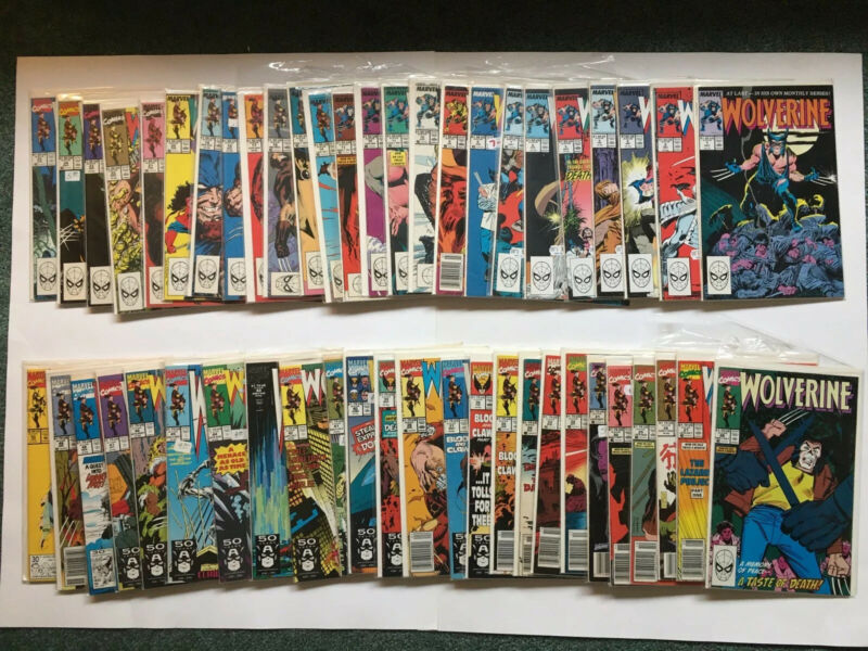 HUGE Wolverine Comic Book Lot #1-142 + MANY Extras Kitty Pryde X-Men Marvel