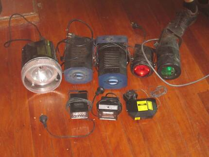 Various party lights