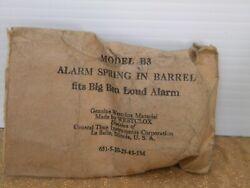 NOS Westclox Clock Alarm Spring In Barrel Fits Big Ben Loud  (Model B3)