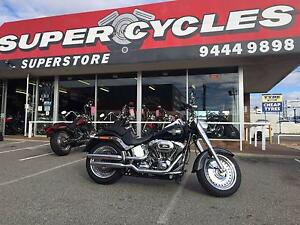 2014 HARLEY DAVIDSON FATBOY GLOSS BLACK Osborne Park Stirling Area Preview