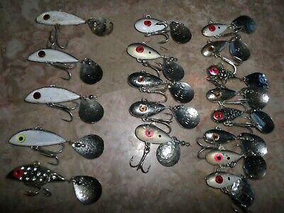 ZANLURE 30pcs Metal Fishing Lure Minnow Poper Pike Salmon Bait Bass Trout Fish