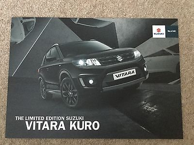 SUZUKI - Suzuki Vitara Kuro UK Sales Brochure December 2016