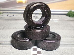 URETHANE-TIRES-2-pair-Black-Narrow-Classic-Industries-Repops-1-25-034-x-45-034