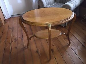 Antique table she's