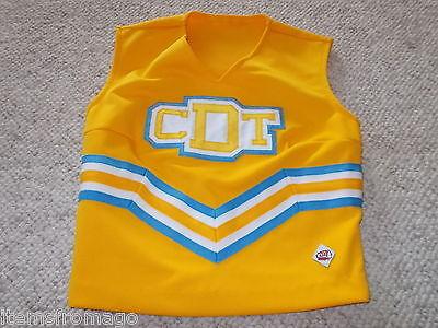 Real Authentic Orange Blue White Gators Cheerleading Danz Team Cheer Uniform CDT
