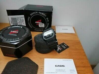 Casio G-Shock DW-5600BB-1ER 43mm Black Stainless Steel,Resin Case NEW