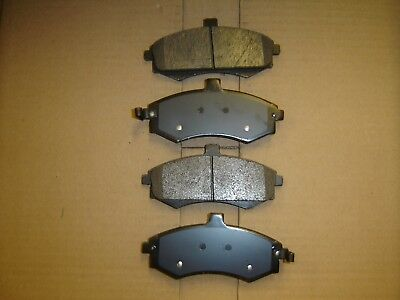 D941 Premium Semi Metallic Quality FRONT DISC BRAKE PAD SET D941