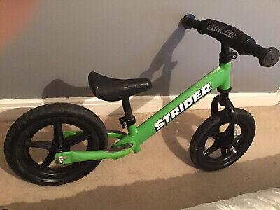 "Strider 12"" Balance Bike - Green - 18mth - 5yr"