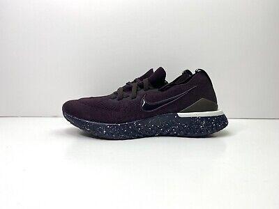 Nike Epic React Flyknit 2 Shield Running Shoes Purple UK 4.5 EUR 38 CI5821 600