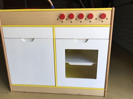 Pretend Play oven stove Kitchen  Cubby House Kitchen