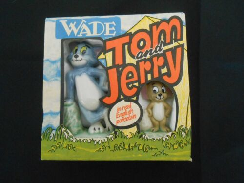 WADE 1970s *BOXED* TOM AND JERRY Original Style 1973 Metro-Goldwyn-Mayer NEW