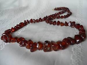 Antique Red Amber necklace - Brisbane/Ipswich pick up Brisbane South West Preview