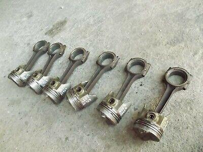 International Farmall 656 Hydro Tractor Gas Engine Motor Pistons Rods Rings
