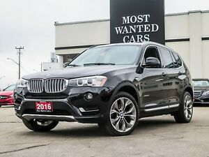 2016 BMW X3 28d XLINE | DIESEL | NAVIGATION | CAMERA | SUNROOF