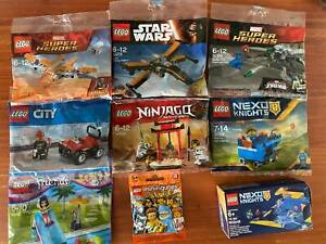 Lego Polybags and Small Sets NEW Star Wars Ninjago Marvel Friends