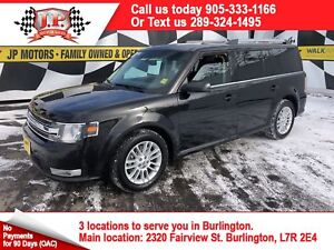 2014 Ford Flex SEL, Auto, 3rd Row Seating, Sunroof, AWD