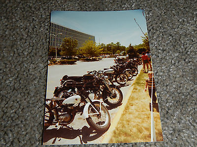 OLD VINTAGE MOTORCYCLE PICTURE PHOTOGRAPH INDIAN BIKE #6