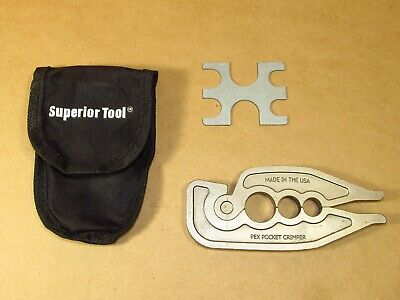 Superior Tool Pex Pocket Crimper Usa
