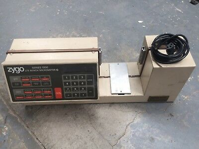 Zygo Series 1200 Laser Lts Bench Micrometer