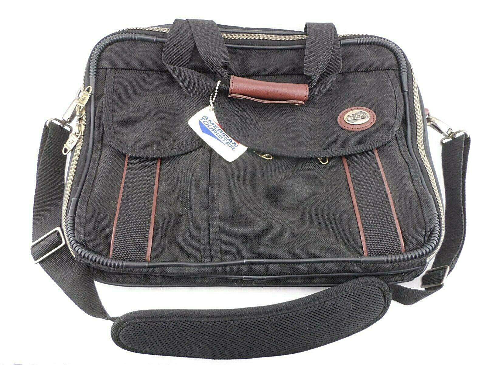 Vintage New AMERICAN TOURISTER Kenya Carry On Boarding Overnight Cross Body Bag  - $28.95