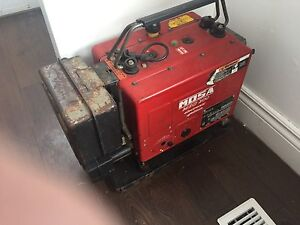 Gas portable welder good for 200 amps