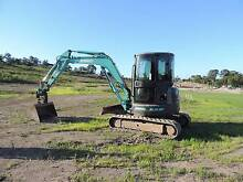 Kobelco SK50SR-3 Mini Excavator and Hino Truck  GH Eagle Combo Maroochydore Maroochydore Area Preview