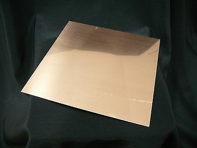20oz Revere Copper Sheet- 22 Ga. .027 Thick - 6x6 - Free Shipping