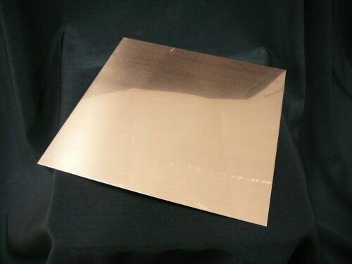 "16 oz Revere Copper Sheet- 22 Ga., .0216"" Thick - 6""x6"" - * FREE SHIPPING *"