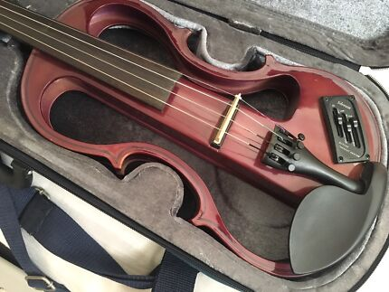 electric violin silenzia