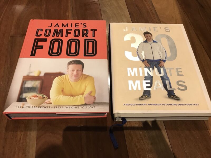 2 jamie oliver recipe books 30 minute meals comfort food recipe 2 jamie oliver recipe books 30 minute meals comfort food recipe waterways kingston area image 1 of 2 forumfinder Choice Image