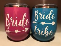 Customized Bridal Party/Bachelorette Party Drink Ware
