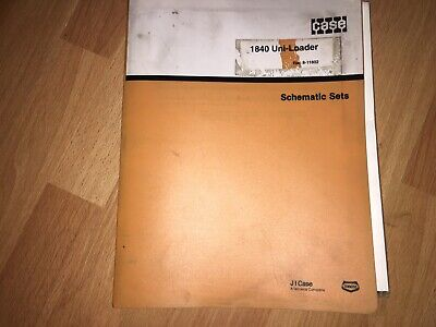 Case 1840 Uni-loader Skid Steer Factory Troubleshooting Schematics Manual Oem
