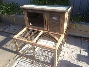 Rabbit Deluxe Hutch House Woodcroft Morphett Vale Area Preview