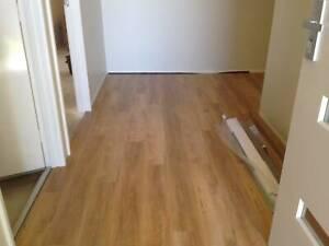 Laminated Floor/vinyl Installation