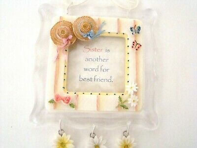 Sister is another word for best friend -  Decorative Frame with Sister Poem
