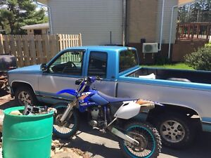 Package deal 93 GMC 04 YZ250F