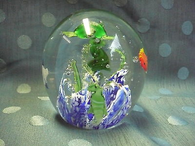 Pretty The Weight of Glass __Paperweight__Paperweight ___ Fish,Sea Horse,Turtle